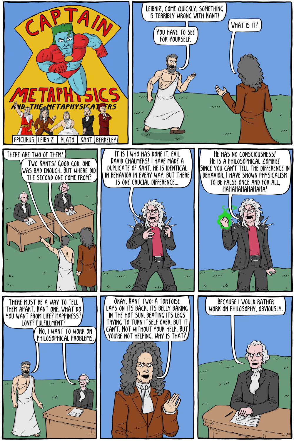 Captain Metaphysics and the Philosophical Zombie