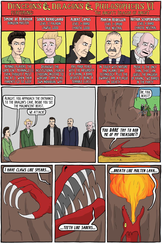 Soren Kierkegaard - Existential Comics