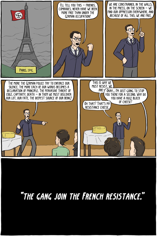 Albert Camus - Existential Comics