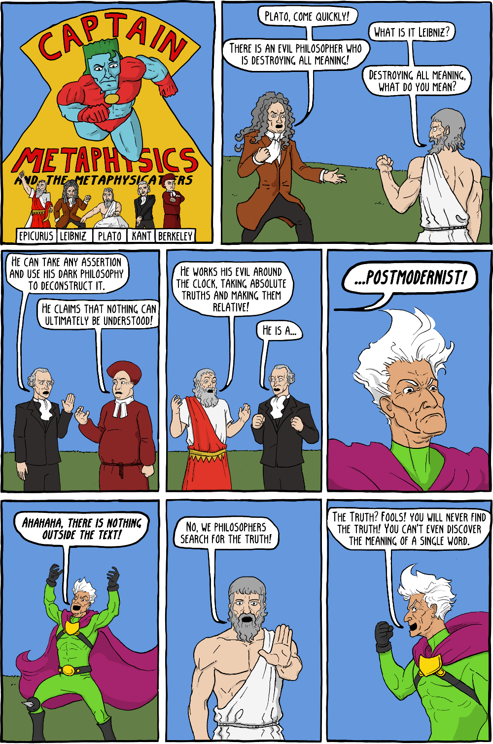 Captain Metaphysics and the Postmodern Peril - Existential ...