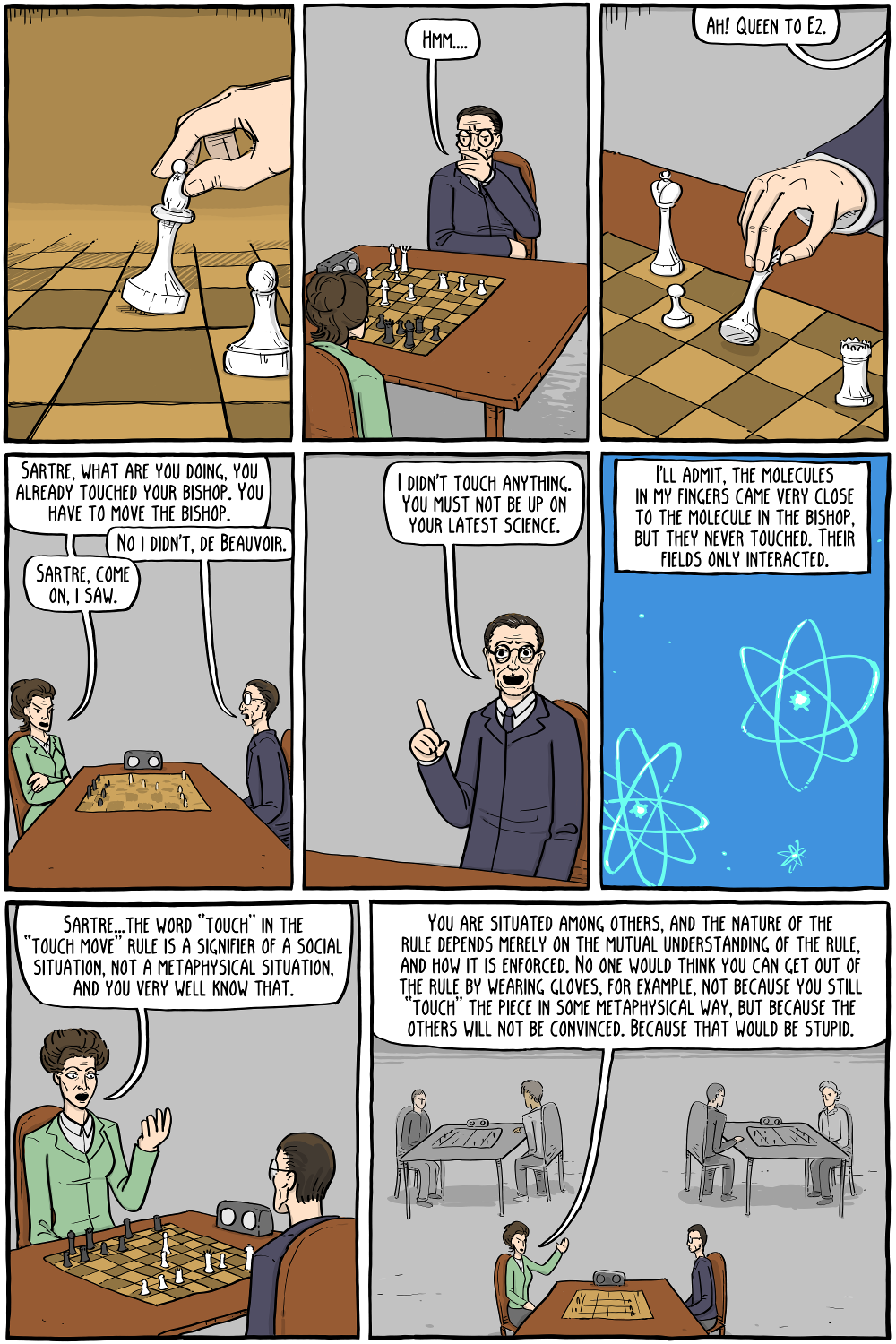 Existential Chess - Existential Comics