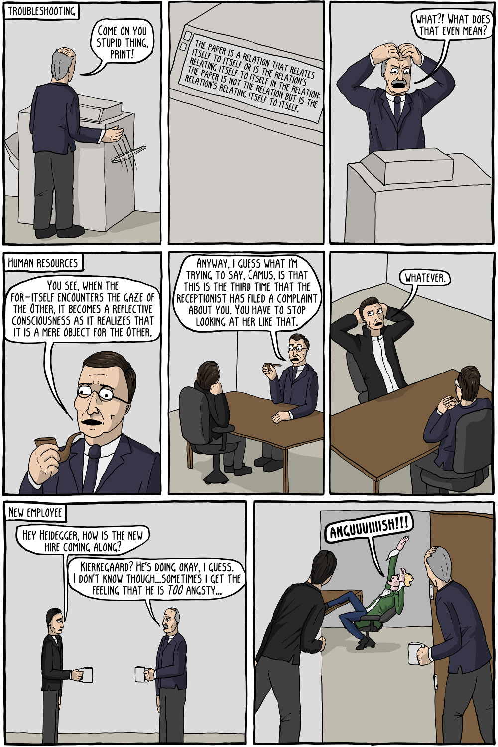 Existential Office Existential Comics