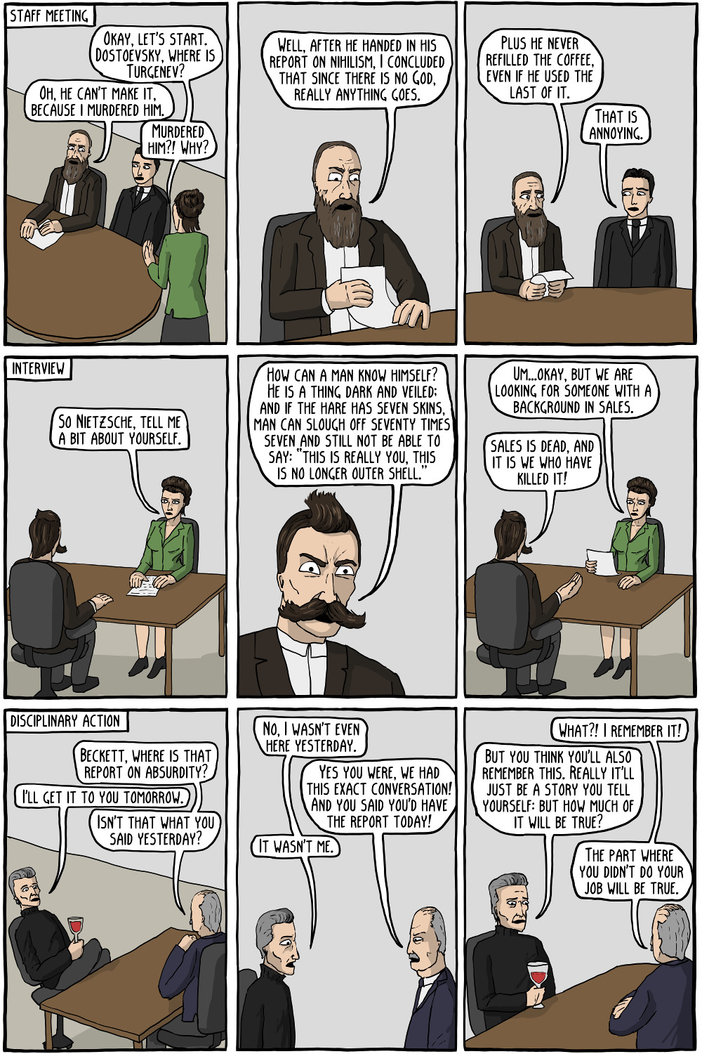 Simone de beauvoir existential comics existential office sciox Image collections