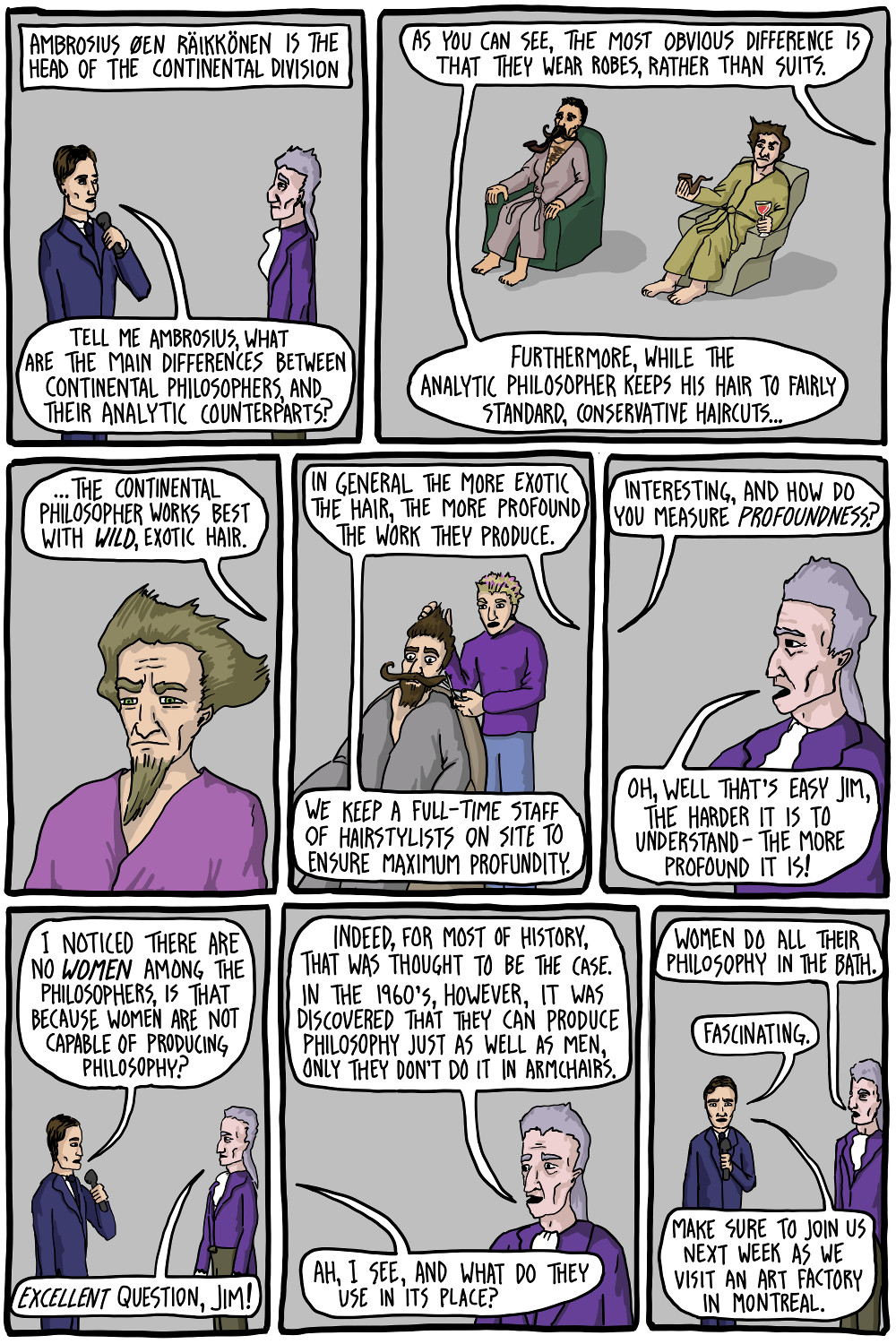 How Philosophy Is Made Existential Comics
