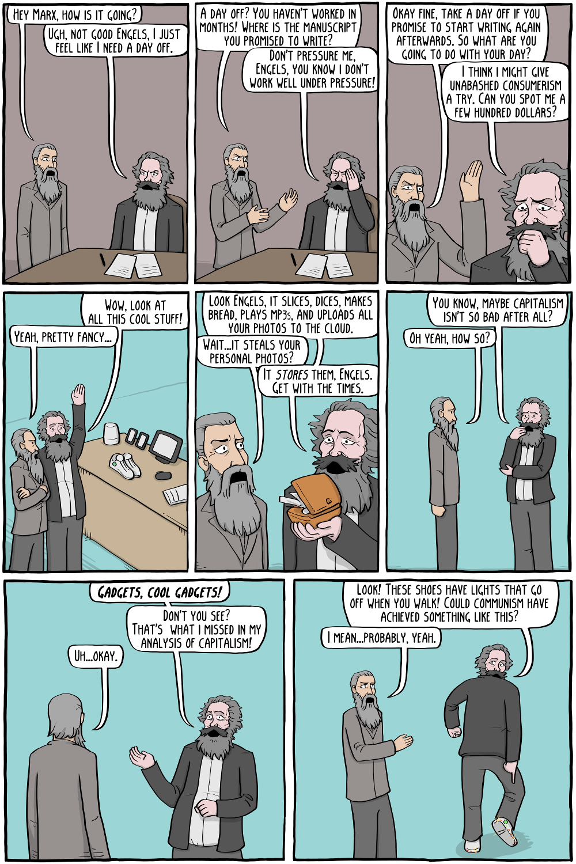 Karl Marx's Day Off