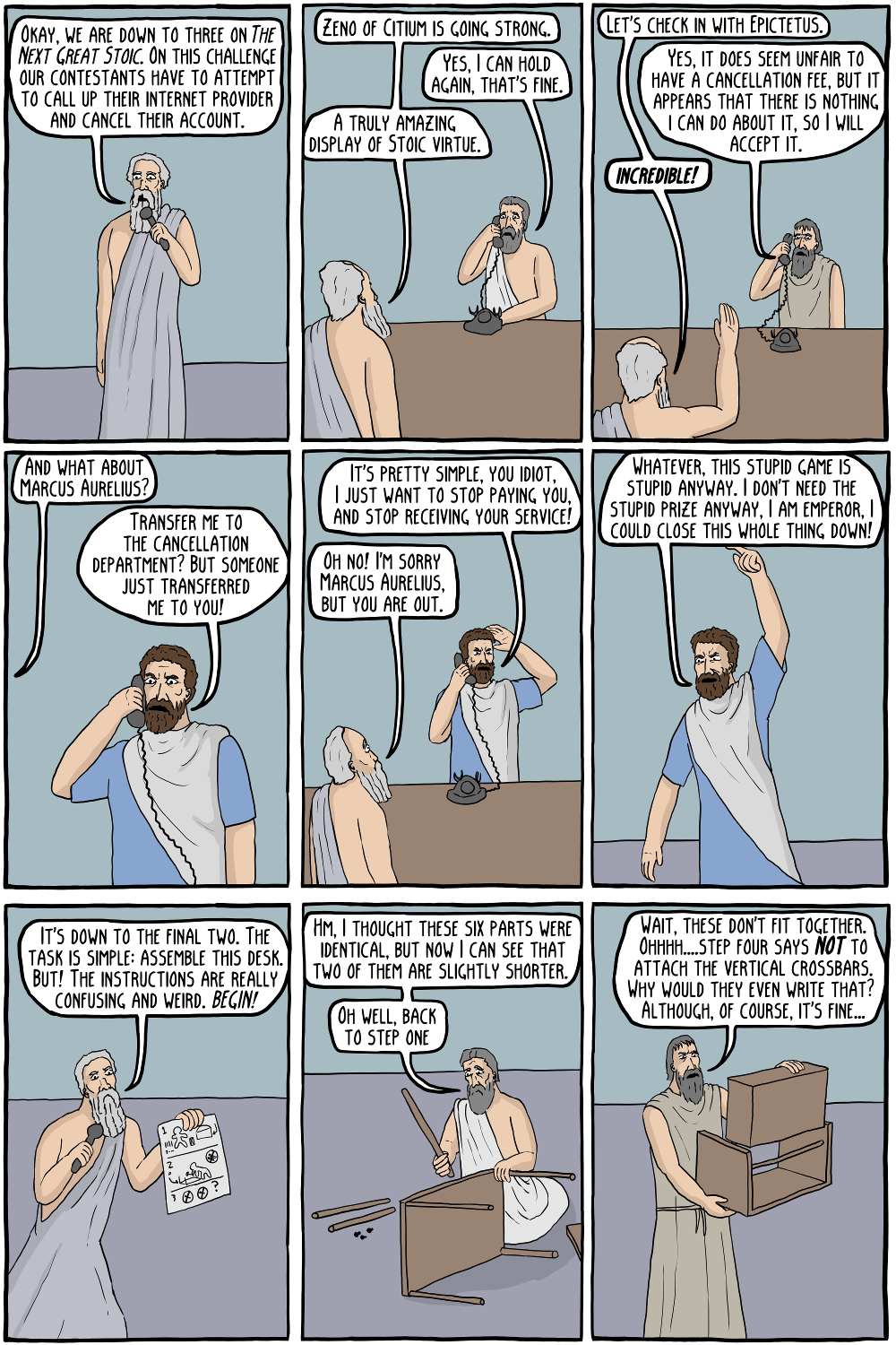 Existential comics : The Next Great Stoic Competition