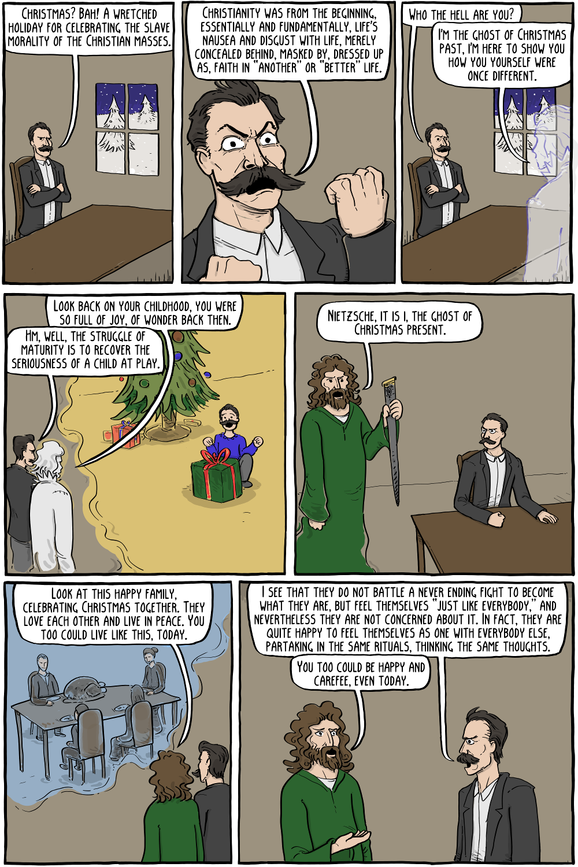 Friedrich Nietzsche Existential Comics