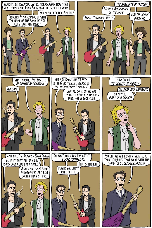 Punk Rock Philosophy - Existential Comics
