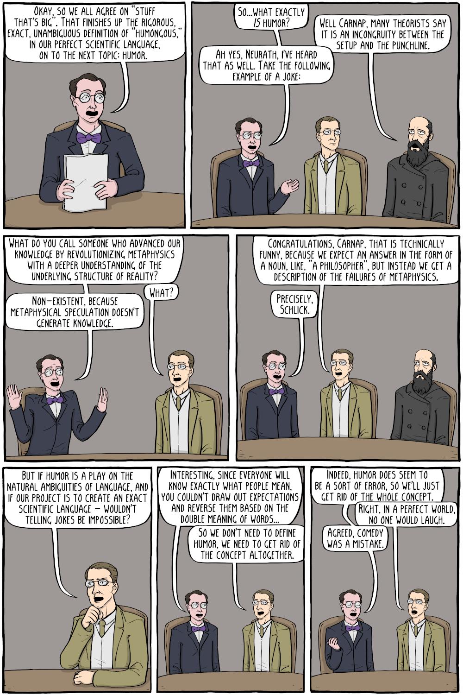 humor vienna comics circle wittgenstein ludwig existential solves existentialcomics philosopher
