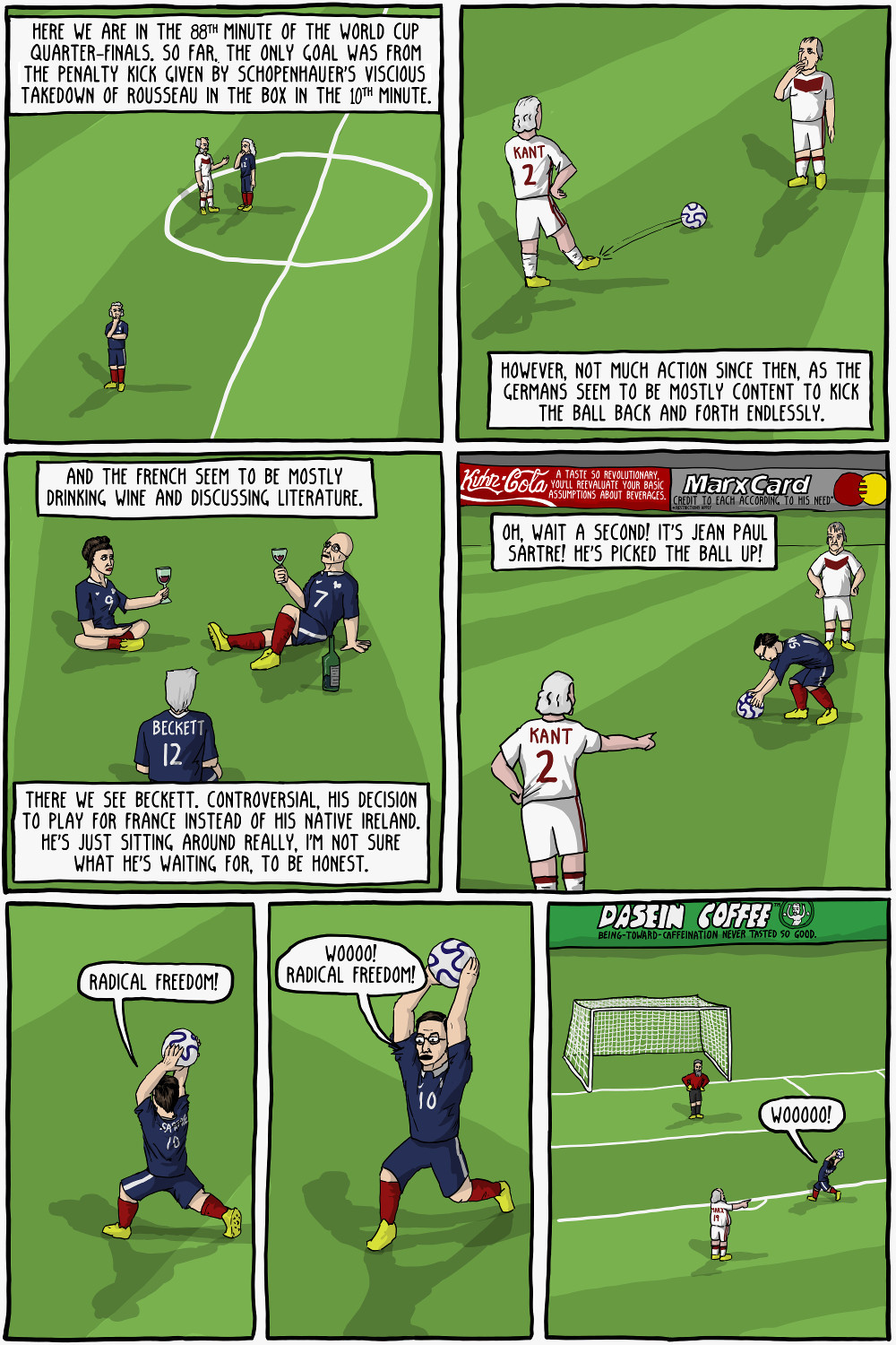 World Cup Philosophy: Germany Vs France